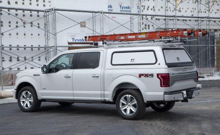 Leer 100RCC Camper Shell for Trucks