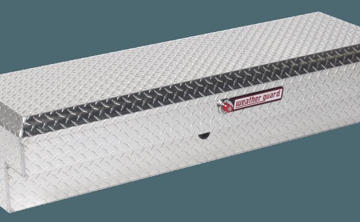 Weather Guard Lo Side Truck Box Aluminum