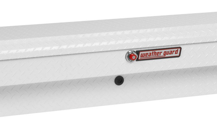 Weather Guard Side Truck Box White