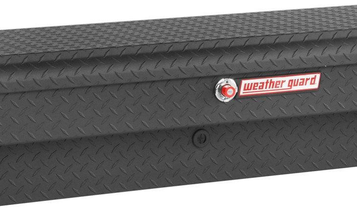 Weather Guard Side Tool Box Black
