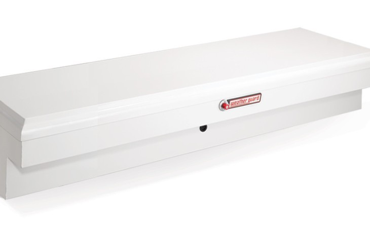 Weather Guard Side Tool Box White