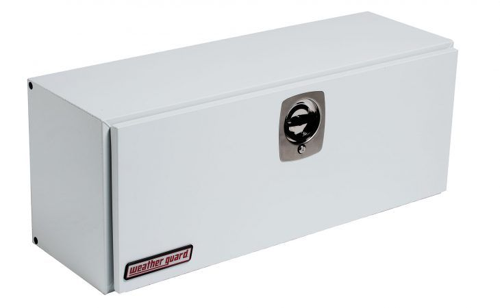Weather Guard Steel White Side Tool Boxes