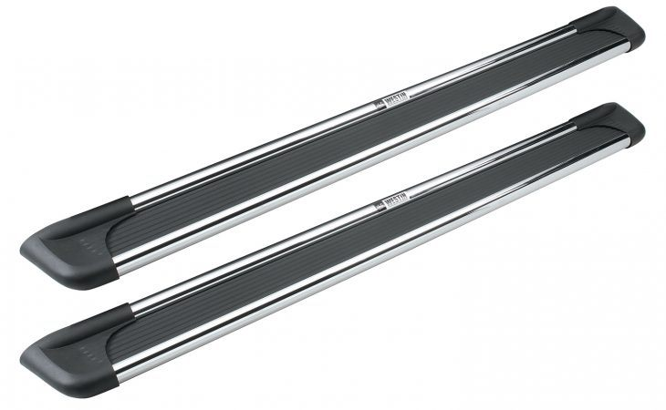 Westin polished running boards