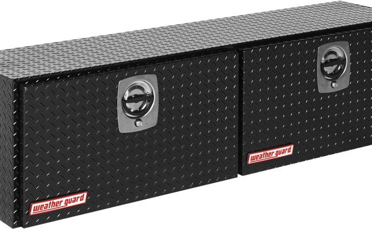 Black Diamond Plate Weather Guard HI Side Box