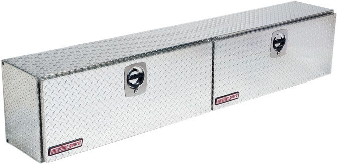 Diamond Plate Weather Guard Steel HI Side Boxes