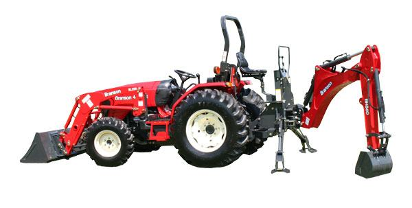 Branson 4020R Tractor With Backhoe