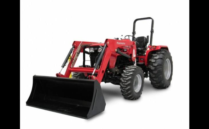 Mahindra 4550 Tractor with Loader