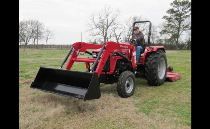 Mahindra 4565 Tractor With Front Loader