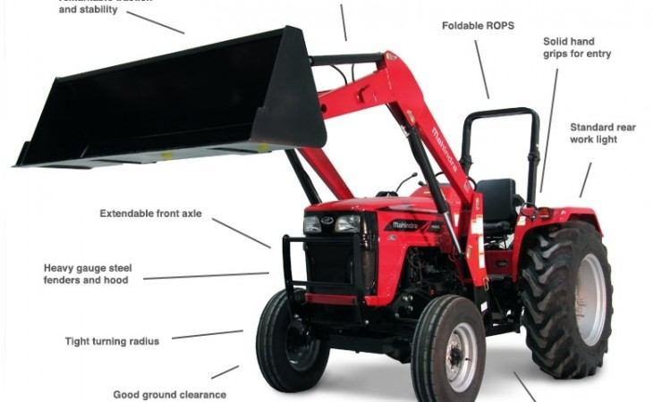 Mahindra 4565 Tractor Highlighted Features