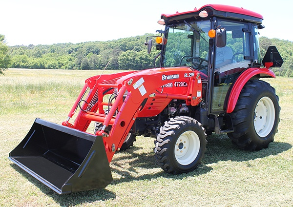 Branson 4720 Cab Tractor with Loader