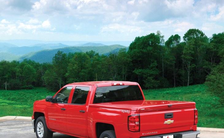 LEER 550 Camper Shell Truck Accessory