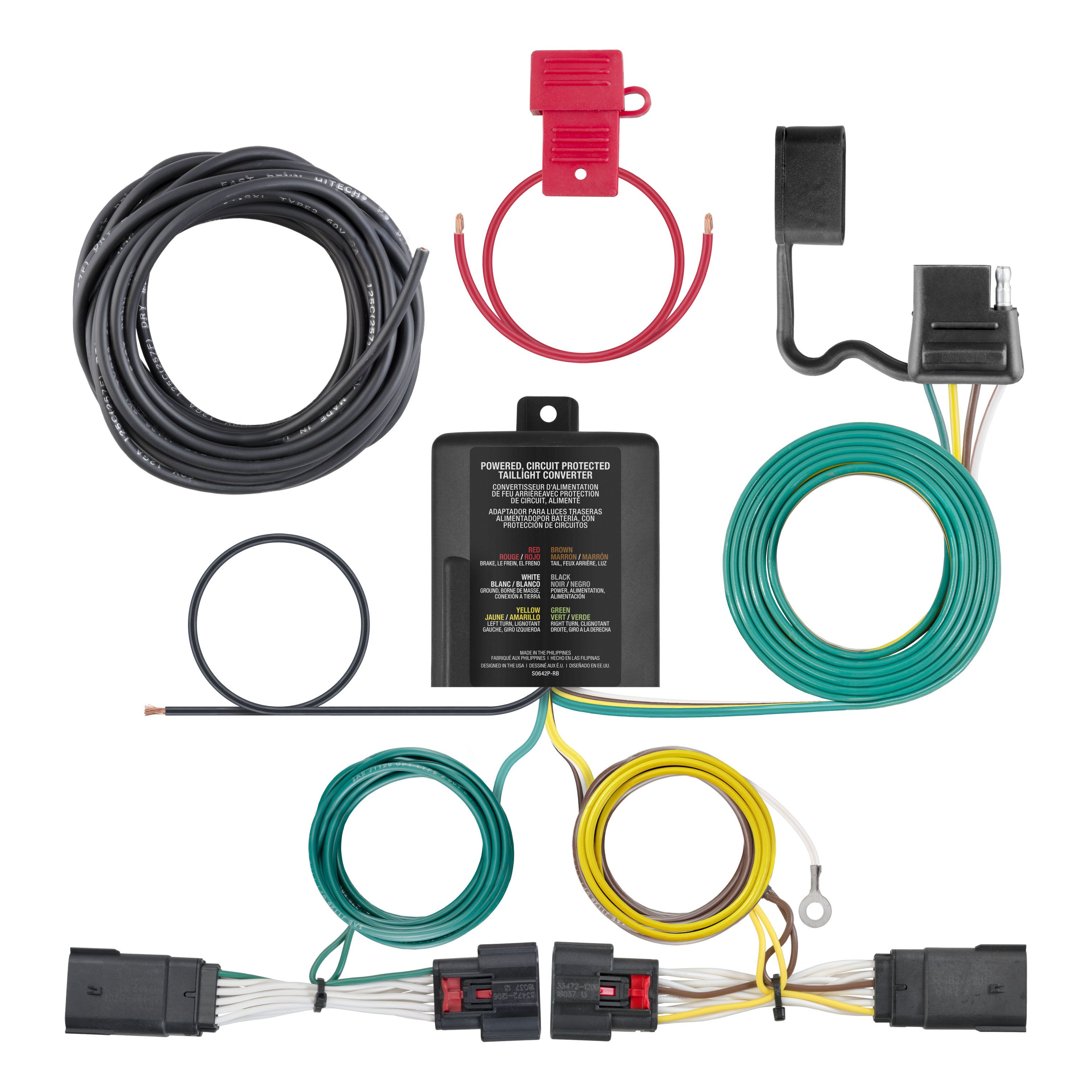 7 Way And 4 Wiring Tow Campways Truck Accessory World With Either A Or Plug Give Us Call You Vehicle Information Stop By Our Friendly Staff Will Be More Than Happy To Assist