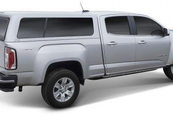 Silver CX Series Truck Cap