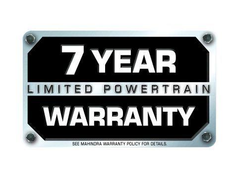7 Year Limited Powertrain Warranty