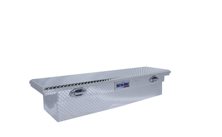 BetterBuilt SEC Crossover Truck Tool Box in Silver