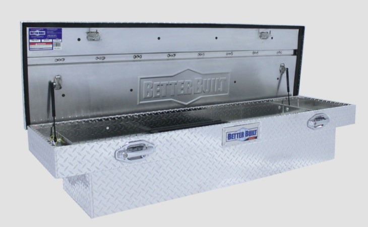 BetterBuilt SEC Crossover Truck Tool Box Open