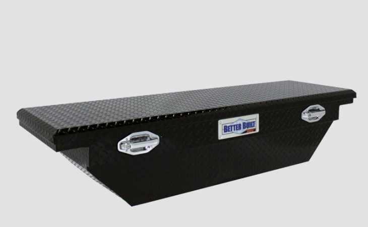 BetterBuilt SEC Crossover Beveled Truck Tool Box in Black