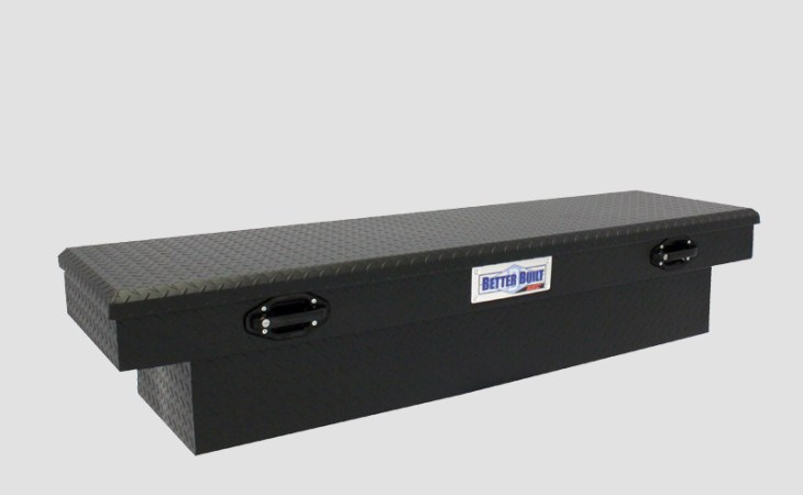 BetterBuilt SEC Crossover Truck Tool Box in Black