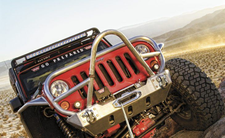 Jeep With Warn Winch