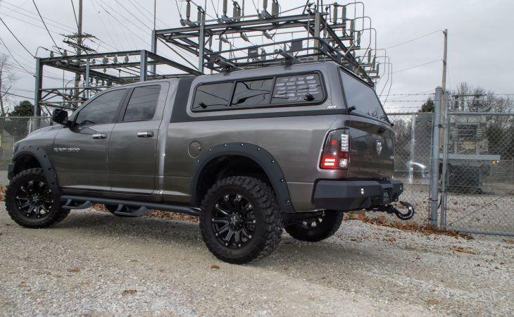 Dark Gray Overland Series Truck Cap
