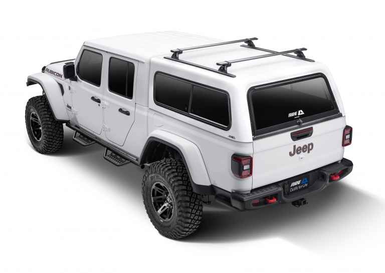 The Jeep Gladiator Truck Cap from A.R.E.