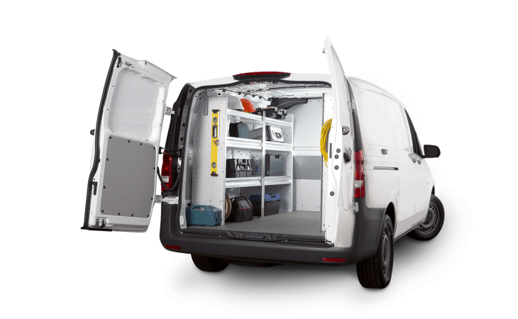 Ranger Design Contractor Package for Vans