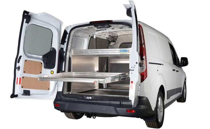 Ranger Van Sliding Shelving Truck Accessories