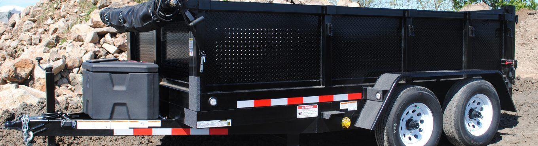 FabForm PT612-10KC Dump Trailer Tandem Axle