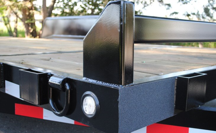 Fabform Flat Bed Trailer Front Tie Down Bar