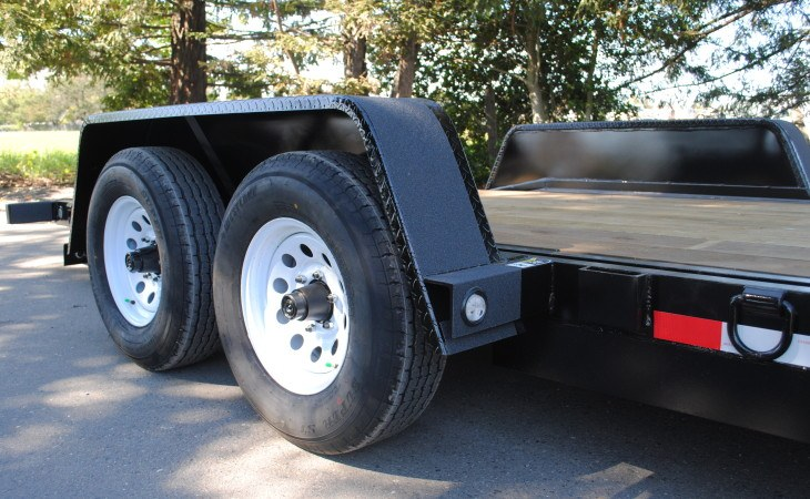 Fabform Trailer Radial Tires and Heavy Duty Fenders
