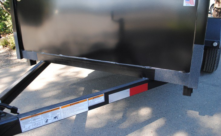 FabForm BX58-3KR Utility Box Trailer Front