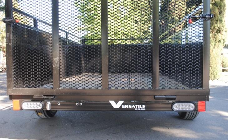 FabForm BX58-3KR Utility Box Trailer Gate Up