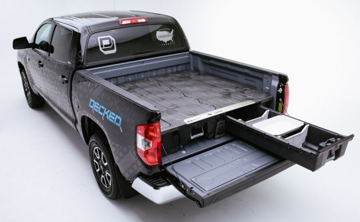 decked bed drawer slides - tool boxes / truck boxes | campway's