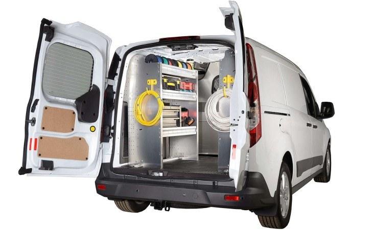 Ranger Custom Van Shelving