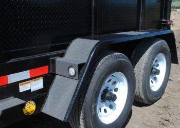 Fabform PT612-10KC Dump Trailer Rear Wheels