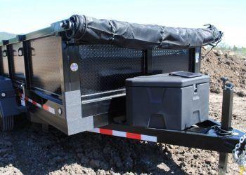 Fabform PT612-10KC Dump Trailer Front