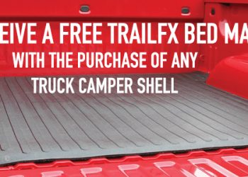 February Special Free Truck Bed Mat Graphic