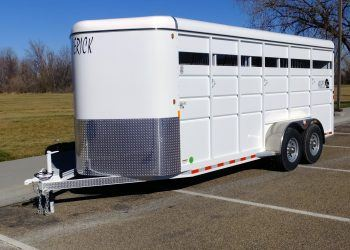 Maverick High Side Steel Horse Trailer Side View