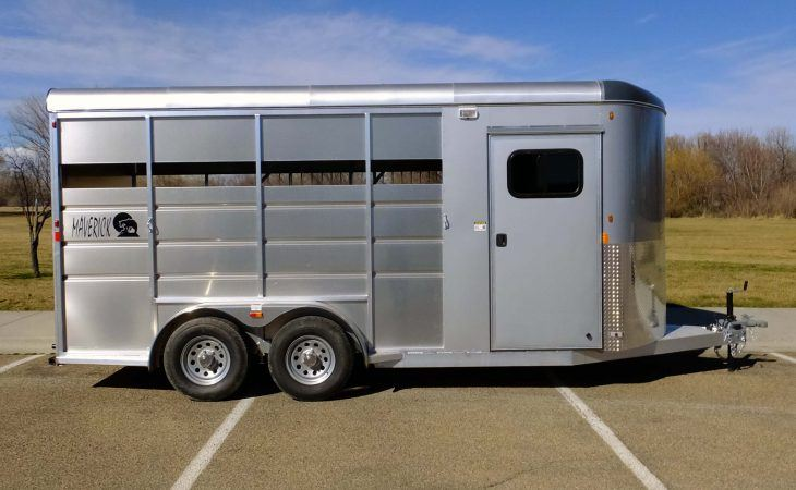Tack Room Side Door Mav Lite Horse Trailer