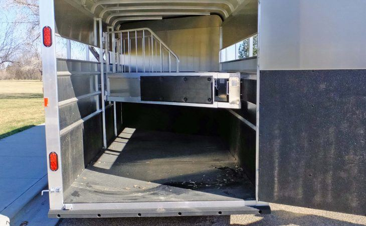 Mav Lite Horse Trailer Inside and Stall Dividers