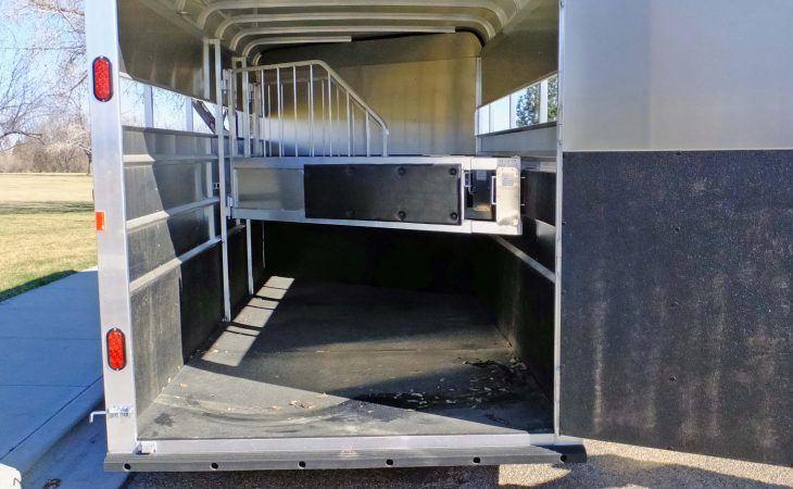 Mav Lite Horse Trailer Inside and Stall Dividers