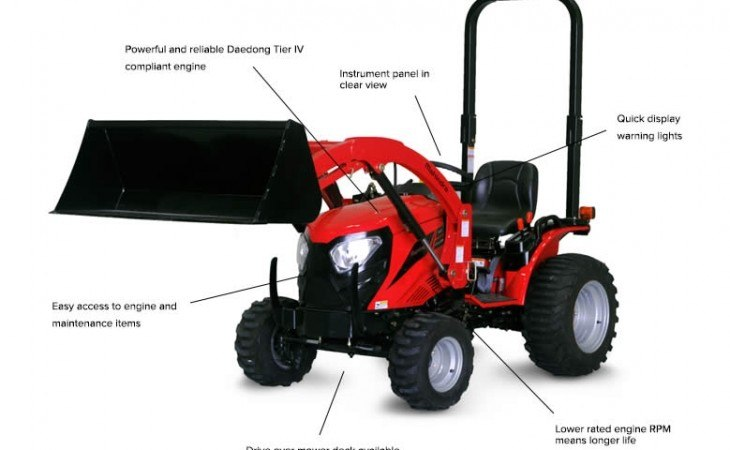 Mahindra eMax22 Tractor Features