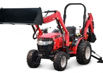 Mahindra Max26 XL Tractor With Backhoe