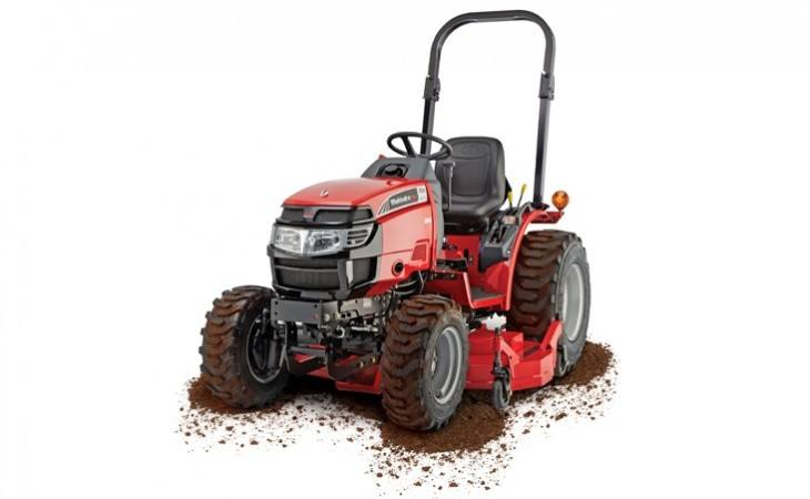 Mahindra Max26 XL Tractor with underdeck Mower