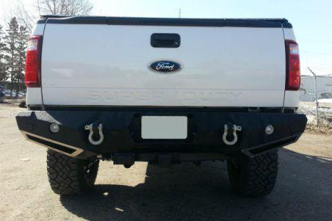 N-Fab HD rear bumper