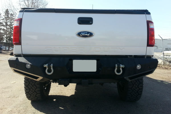 N-Fab Truck Rear Bumpers - Bumpers and Winches | Campway's