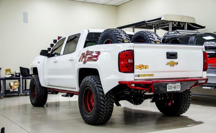 Nfab RBS rear bumper