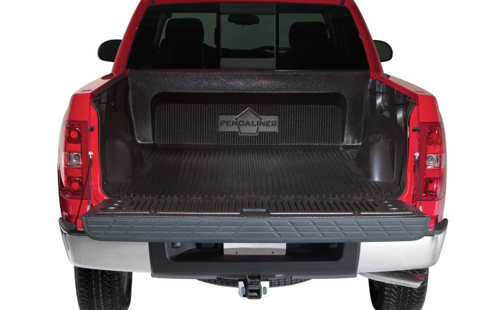 Pendaliner Bedliner Installed in Truck