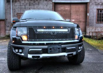 Rigid Grille on Ford Raptor