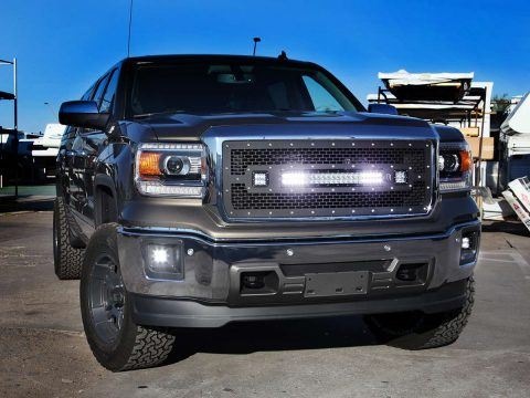 Rigid Grille on 2015 GMC 1500